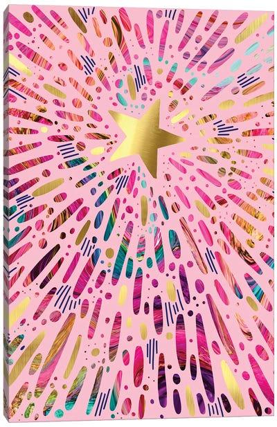 Starburst Canvas Art Print