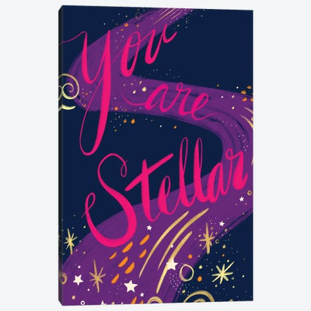 You Are Stellar Canvas Print #ETV161} by ETTAVEE Canvas Art