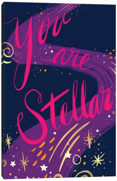 You Are Stellar Canvas Art Print