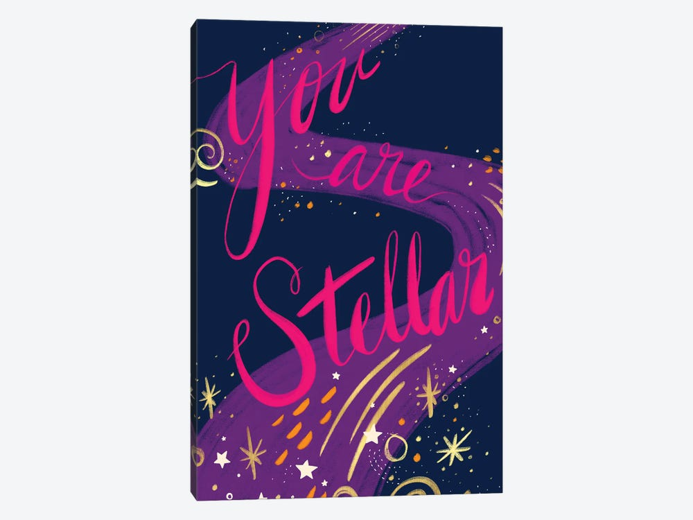You Are Stellar by ETTAVEE 1-piece Canvas Print