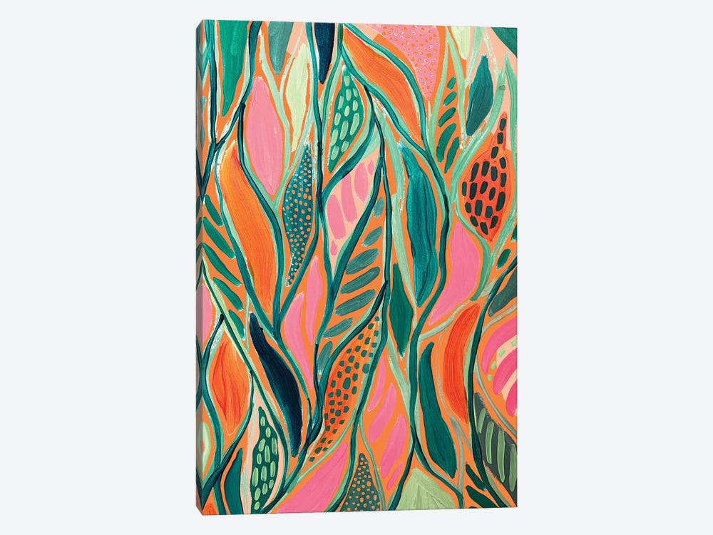 Abstract Print IV by ETTAVEE 1-piece Canvas Art