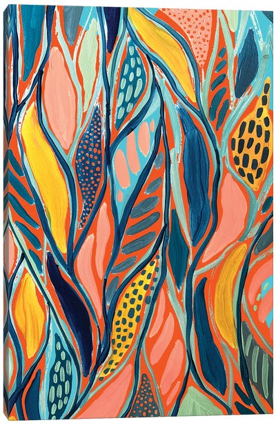 Abstract Print V Canvas Art Print