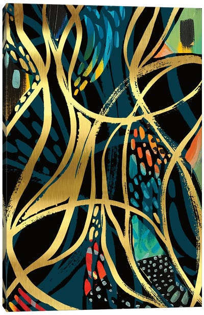 Abstract Print VI Canvas Art Print