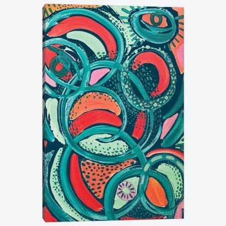 Abstract Print VII Canvas Print #ETV169} by ETTAVEE Canvas Art