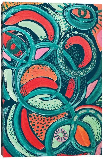 Abstract Print VII Canvas Art Print