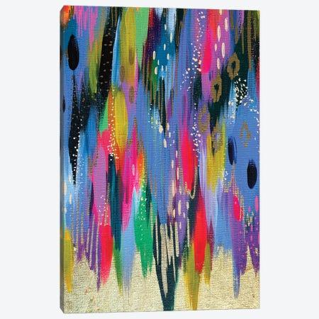 Bright Brush Strokes XCVII Canvas Print #ETV176} by ETTAVEE Canvas Artwork