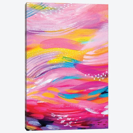Brush Strokes LXXVI Canvas Print #ETV179} by ETTAVEE Art Print