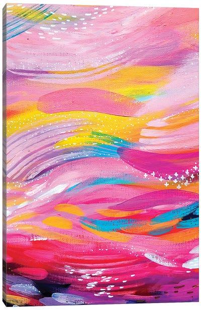 Brush Strokes LXXVI Canvas Art Print