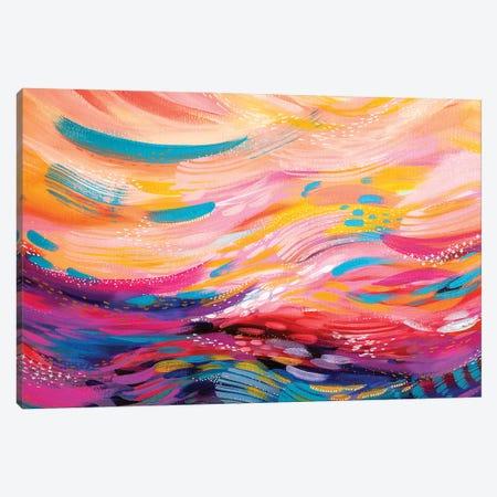 Brush Strokes XC Canvas Print #ETV193} by ETTAVEE Canvas Print