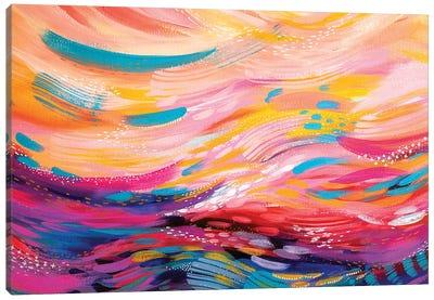 Brush Strokes XC Canvas Art Print