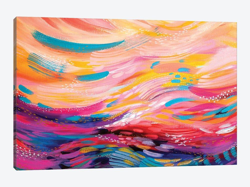 Brush Strokes XC by ETTAVEE 1-piece Canvas Wall Art