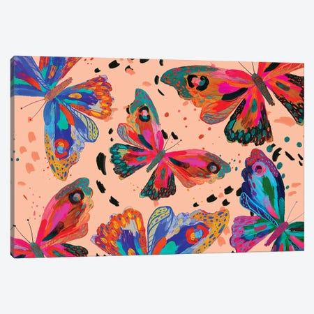 Butterfly V Canvas Print #ETV195} by ETTAVEE Canvas Art