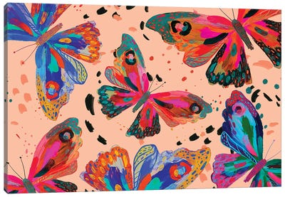 Butterfly V Canvas Art Print