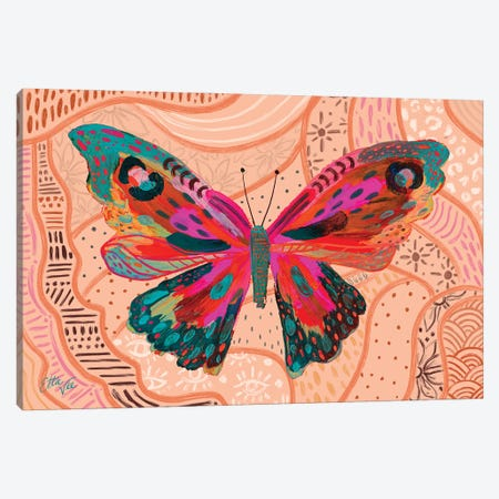 Butterfly VI Canvas Print #ETV196} by ETTAVEE Canvas Art