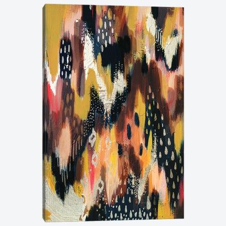 Dark Brush Strokes I Canvas Print #ETV197} by ETTAVEE Canvas Art