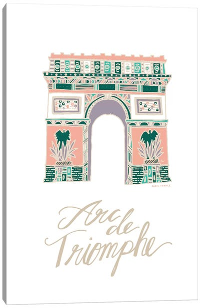 Arc de Triomphe Canvas Art Print