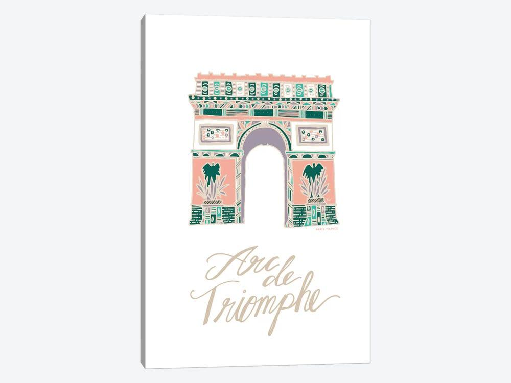 Arc de Triomphe by ETTAVEE 1-piece Canvas Wall Art