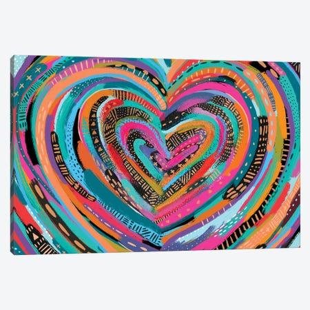 Art Heart II Canvas Print #ETV204} by ETTAVEE Canvas Artwork