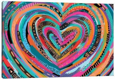 Art Heart II Canvas Art Print