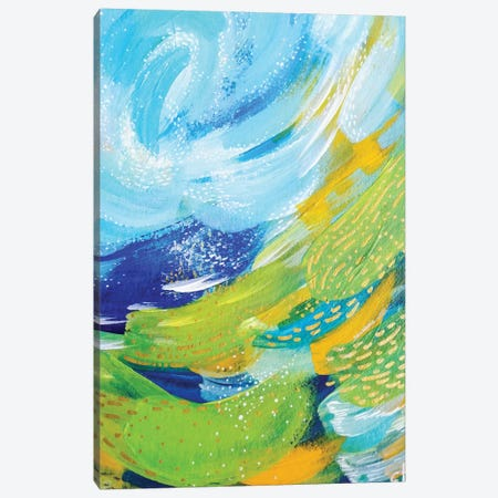 Bright Brush Strokes VII Canvas Print #ETV20} by ETTAVEE Canvas Print