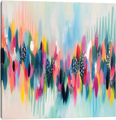 Brush Stroke CIII Canvas Art Print