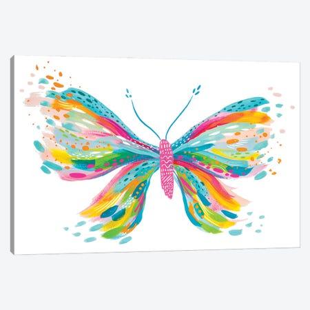 Butterfly VII Canvas Print #ETV214} by ETTAVEE Art Print