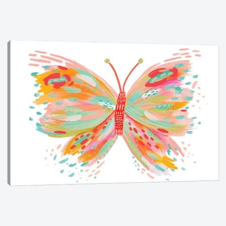 Butterfly X Canvas Print #ETV215} by ETTAVEE Art Print