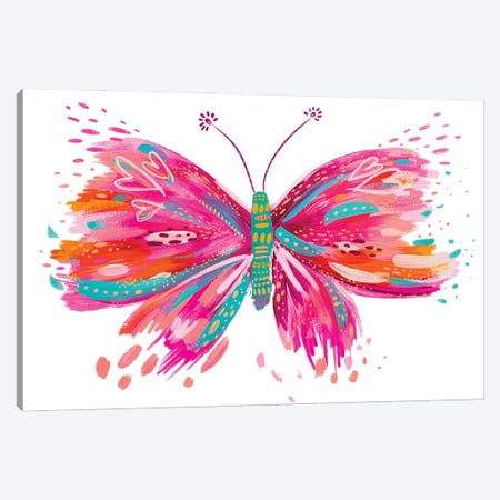 Butterfly XII Canvas Print #ETV216} by ETTAVEE Canvas Print
