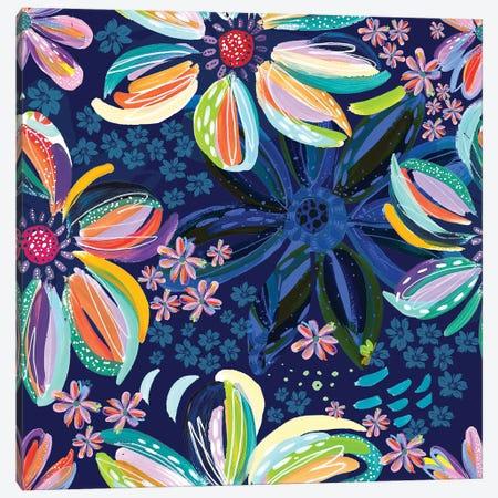 Loose Flowers III Canvas Print #ETV217} by ETTAVEE Canvas Art Print