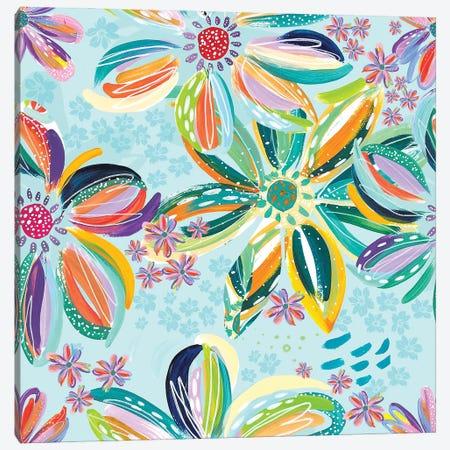Loose Flowers IV Canvas Print #ETV218} by ETTAVEE Canvas Artwork