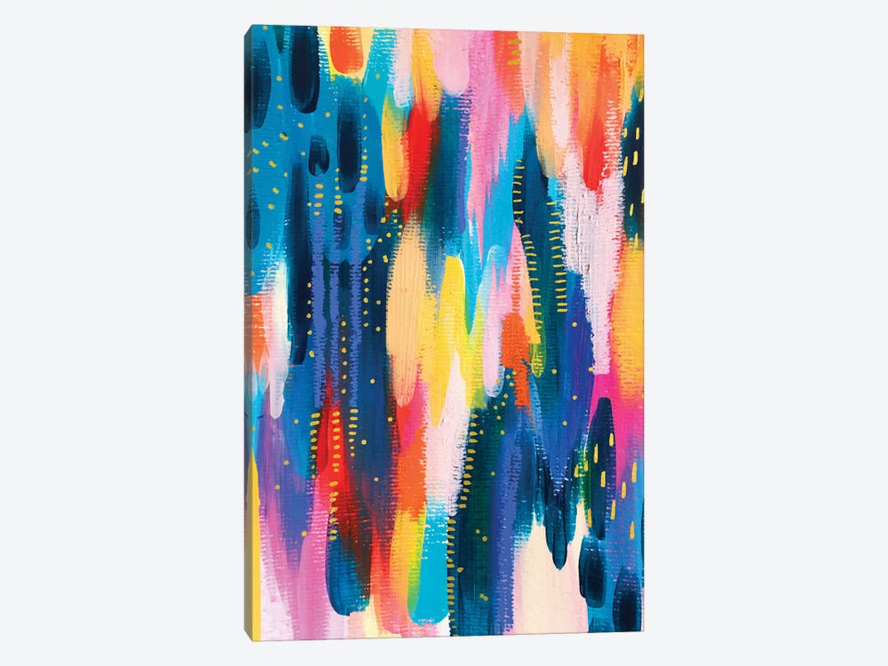 Bright Brush Strokes VIII by ETTAVEE 1-piece Canvas Artwork