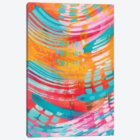 Bright Brush Strokes XIII Canvas Print #ETV25} by ETTAVEE Canvas Artwork