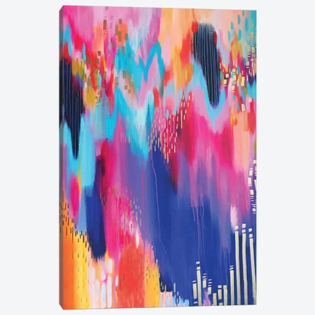 Bright Brush Strokes XIV Canvas Print #ETV26} by ETTAVEE Canvas Artwork