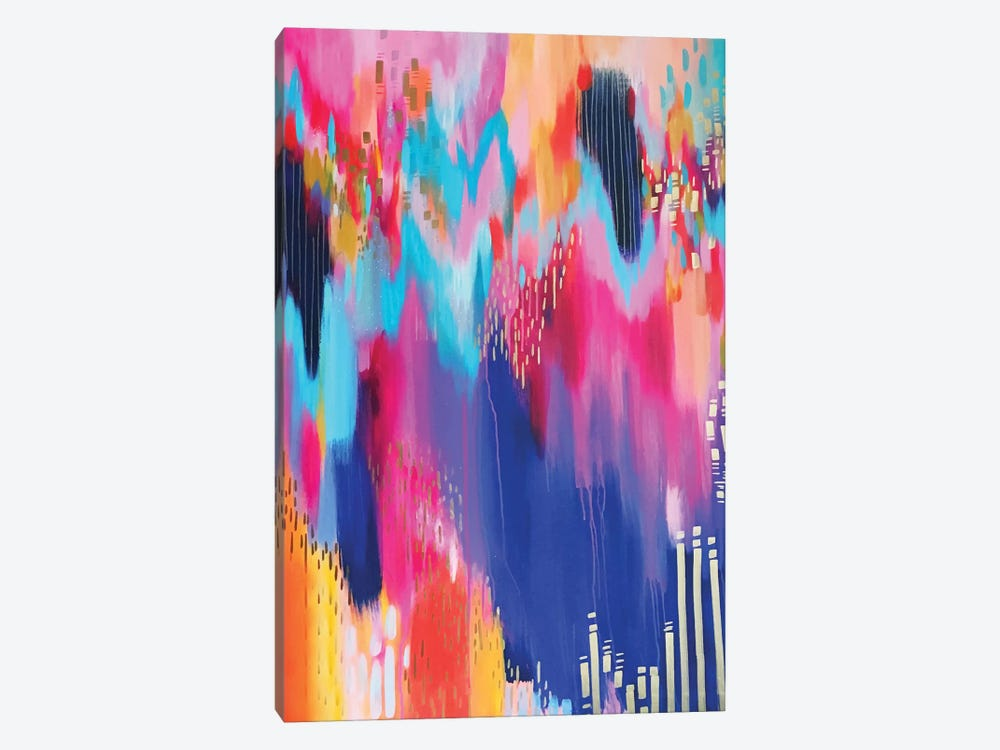 Bright Brush Strokes XIV by EttaVee 1-piece Canvas Print