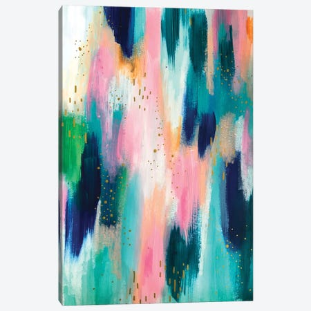 Bright Brush Strokes XLIV Canvas Print #ETV32} by ETTAVEE Canvas Art