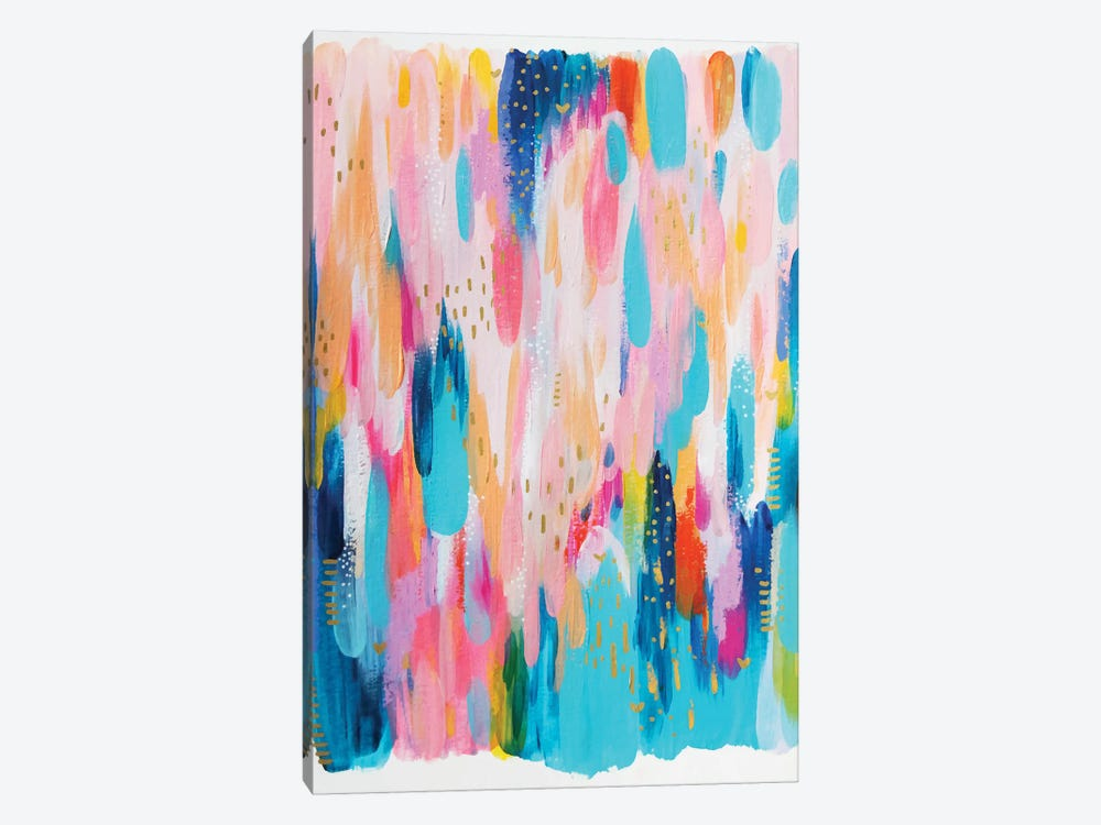 Bright Brush Strokes XVI by EttaVee 1-piece Art Print