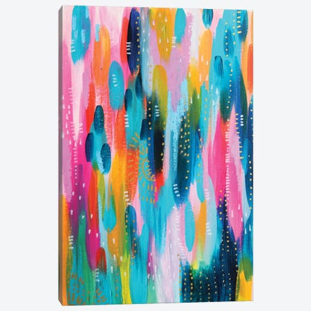 Bright Brush Strokes XXVII Canvas Print #ETV49} by ETTAVEE Canvas Print