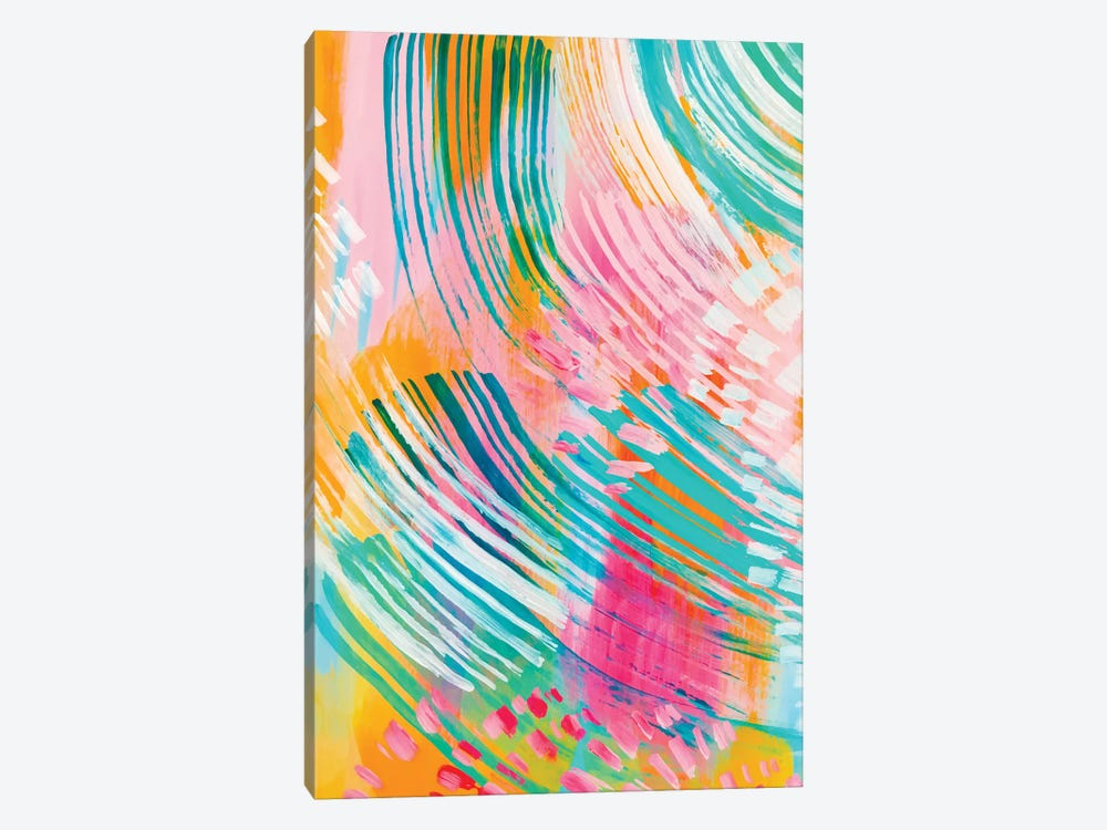 Bright Brush Strokes XXXII by ETTAVEE 1-piece Art Print