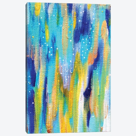 Bright Brush Strokes XXXVI Canvas Print #ETV58} by ETTAVEE Canvas Artwork