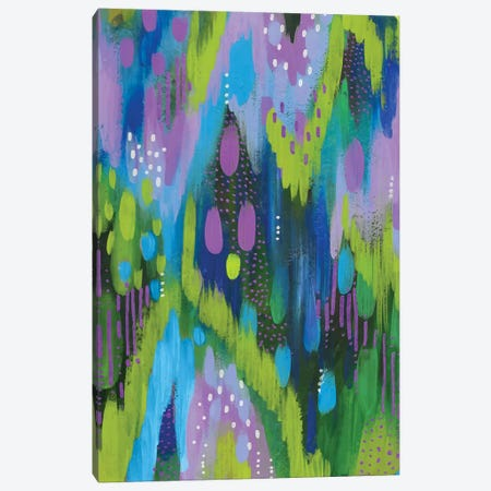 Bright Brush Strokes XXXVII Canvas Print #ETV59} by ETTAVEE Canvas Wall Art