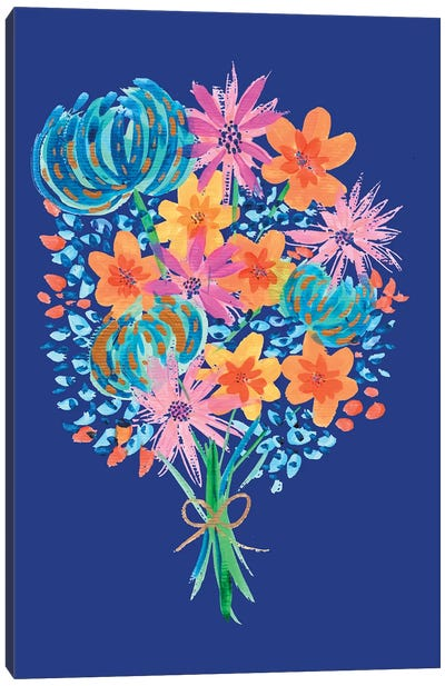 Bouquet II Canvas Art Print