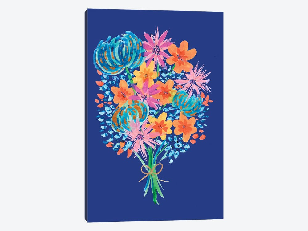 Bouquet II by ETTAVEE 1-piece Canvas Artwork