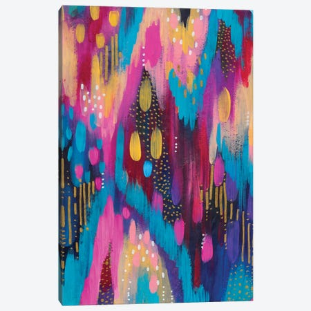 Bright Brush Strokes XXXVIII Canvas Print #ETV60} by ETTAVEE Canvas Print