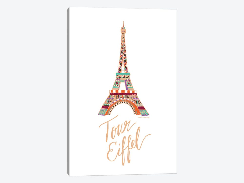 Eiffel Bronze by ETTAVEE 1-piece Canvas Art