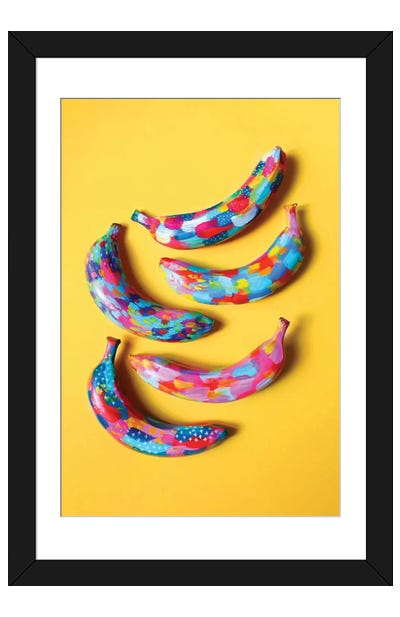 Banana II Framed Art Print