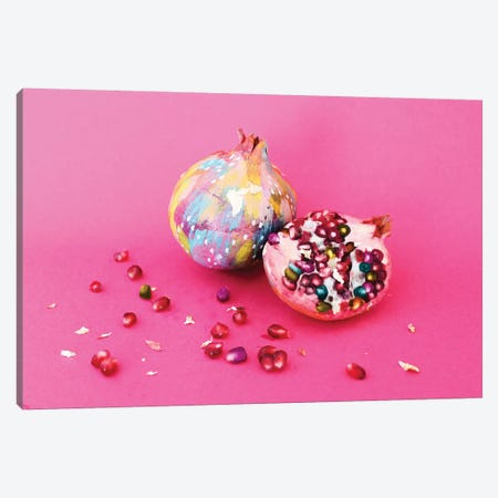 Fiesta Fruit Pomegranate Canvas Print #ETV72} by ETTAVEE Canvas Artwork