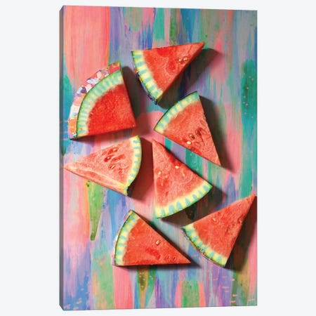 Watermelon I Canvas Print #ETV74} by ETTAVEE Canvas Art Print