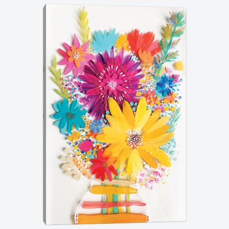 Bouquet IV Canvas Print #ETV7} by ETTAVEE Canvas Art Print