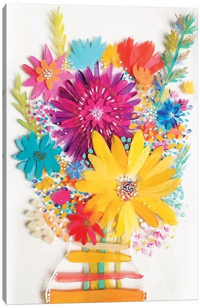 Bouquet IV Canvas Art Print