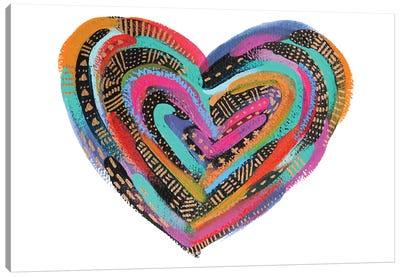 Labyrinth Heart II Canvas Art Print